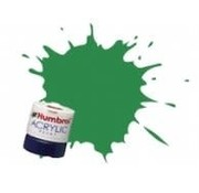 Humbrol - HMB AB2408 - Apple Green - Acrylic, 14mL, Rail Colors, RC408