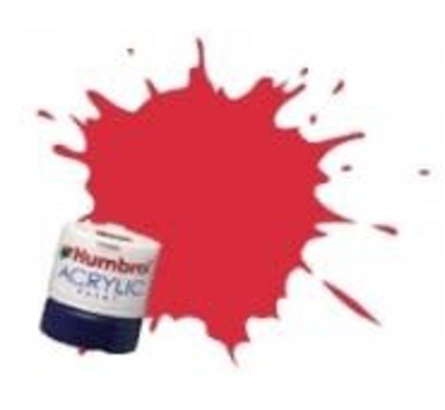 AB2423 - Carmine - Acrylic, 14mL, Rail Colors, RC423