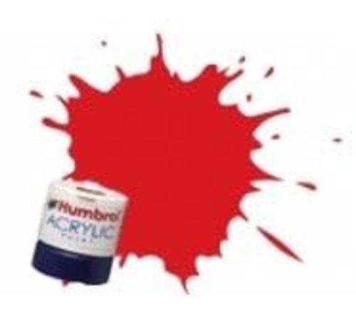 Humbrol - HMB AB2421 - Virgin Red - Acrylic, 14mL, Rail Colors, RC421
