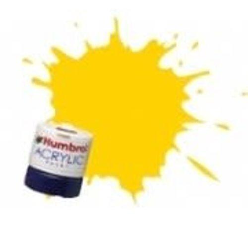 Humbrol - HMB AB2419 - EWS Yellow - Acrylic, 14mL, Rail Colors, RC419