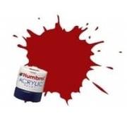 Humbrol - HMB AB2418 - EWS Red - Acrylic, 14mL, Rail Colors, RC418