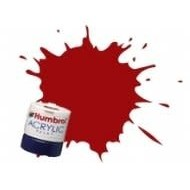HMB - HUMBROL AB2418 - EWS Red - Acrylic, 14mL, Rail Colors, RC418