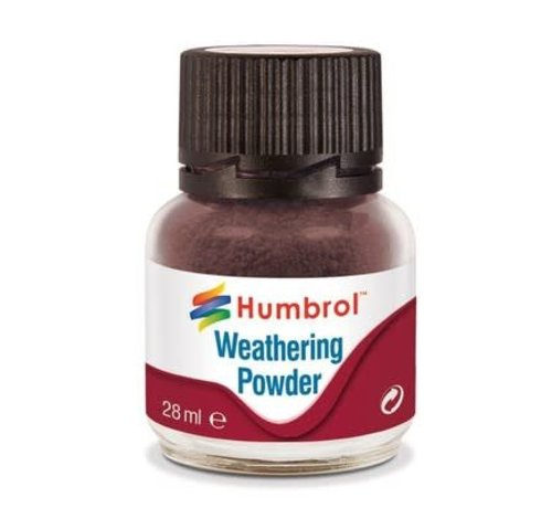 Humbrol - HMB AV0007 - DARK EARTH - Weathering Powder, 28mL
