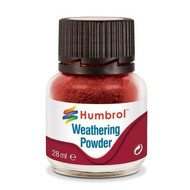 HMB - HUMBROL AV0006 - IRON OXIDE - Weathering Powder, 28mL