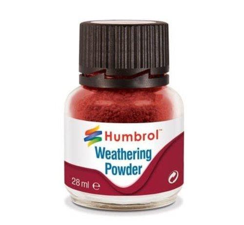 Humbrol - HMB AV0006 - IRON OXIDE - Weathering Powder, 28mL