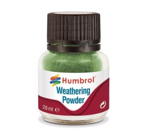 Humbrol - HMB AV0005 - CHROME OXIDE GREEN - Weathering Powder, 28mL