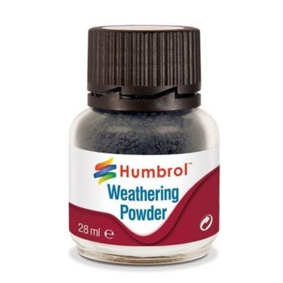 HMB - HUMBROL AV0004 - SMOKE - Weathering Powder, 28mL