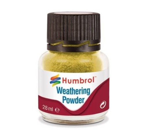 Humbrol - HMB AV0003 - SAND - Weathering Powder, 28mL
