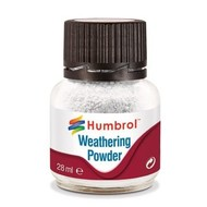 HMB - HUMBROL AV0002 - WHITE - Weathering Powder, 28mL