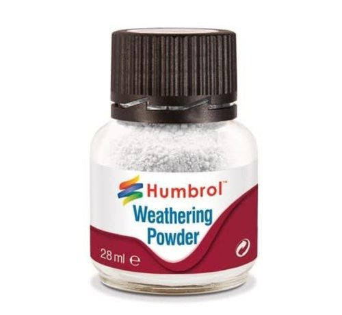 Humbrol - HMB AV0002 - WHITE - Weathering Powder, 28mL