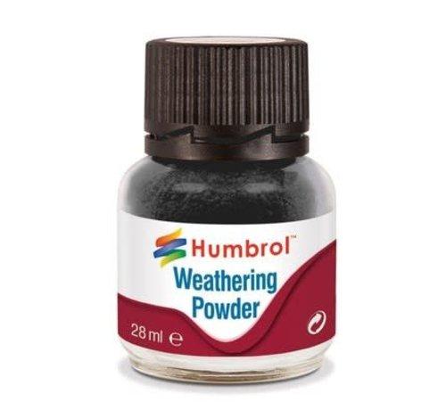 Humbrol - HMB AV0001 - BLACK - Weathering Powder, 28mL