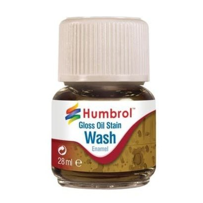 HMB - HUMBROL AV0209 - Enamel Wash Oil Stain, 28ml