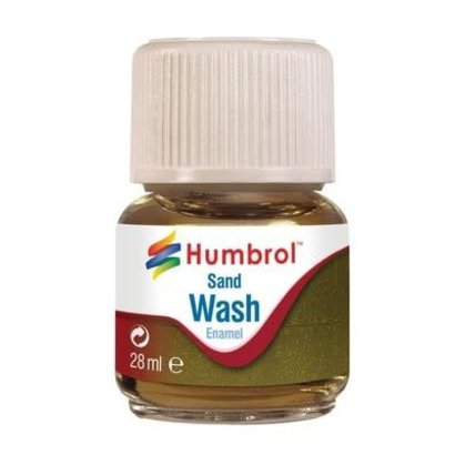 HMB - HUMBROL AV0207 - Enamel Wash Sand, 28 ml