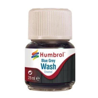 HMB - HUMBROL AV0206 - Enamel Wash Blue Grey, 28 ml