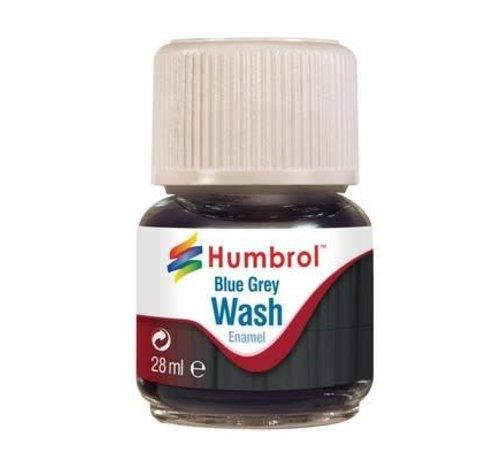 Humbrol - HMB AV0206 - Enamel Wash Blue Grey, 28 ml