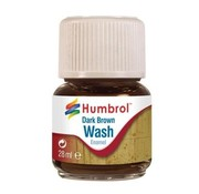 Humbrol - HMB AV0205 - Enamel Wash Dark Brown, 28 ml