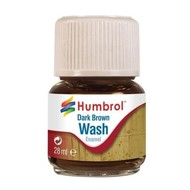 HMB - HUMBROL AV0205 - Enamel Wash Dark Brown, 28 ml
