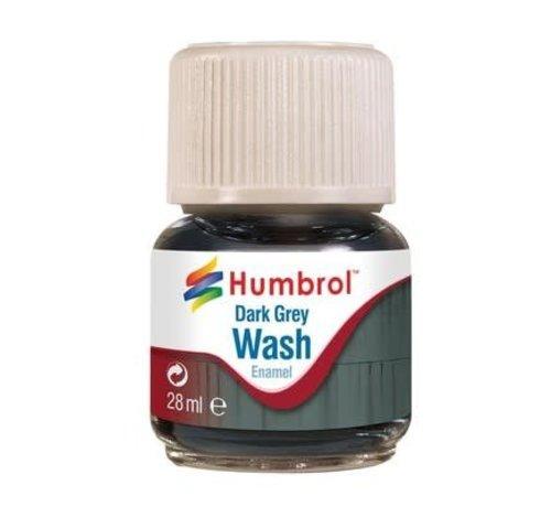 Humbrol - HMB AV0204 - Enamel Wash Dark Grey, 28 ml