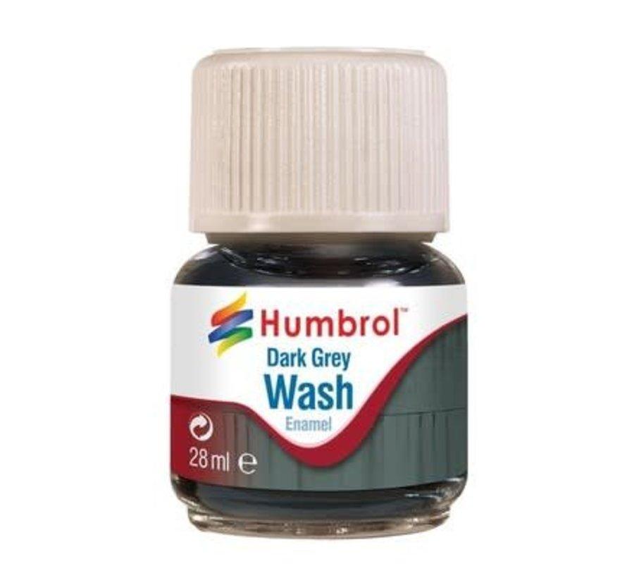 AV0204 - Enamel Wash Dark Grey, 28 ml