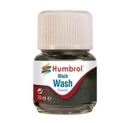 Humbrol - HMB AV0201 - Enamel Wash Black, 28 ml