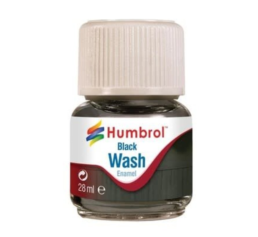 AV0201 - Enamel Wash Black, 28 ml