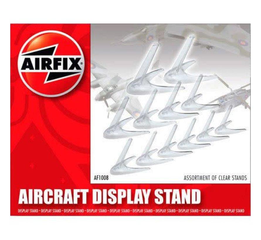AF1008 - 3 sizes - Aircraft Model Stand Assortment