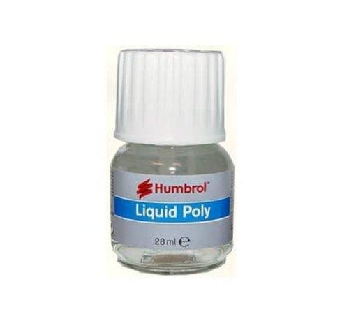 Humbrol - HMB AE2500 - Liquid Poly, 28 ml, Bottle/Brush