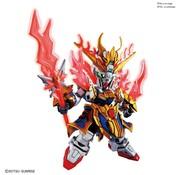 BANDAI MODEL KITS Zhang Fei God Gundam  SD