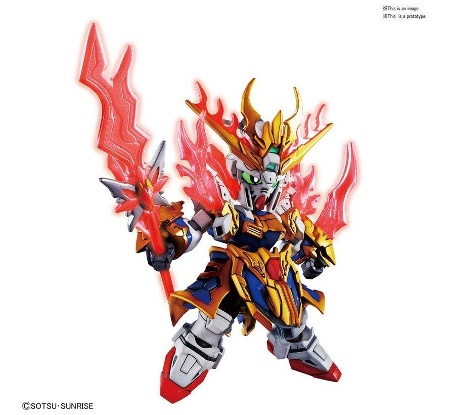 """5056754 Zhang Fei God Gundam  """"SD Sangoku Soketsuden"""", Bandai SD"""
