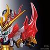 "BANDAI MODEL KITS 5056754 Zhang Fei God Gundam  ""SD Sangoku Soketsuden"", Bandai SD"