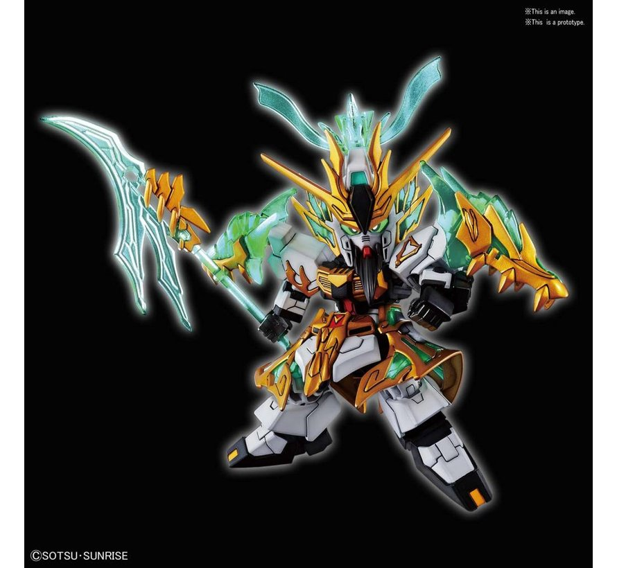 "5056755 Guan Yu Yun Change Nu Gundam  ""SD Sangoku Soketsuden"", Bandai SD"