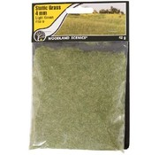 WOO - Woodland Scenics 785- FS619 Static Grass, Light Green 4mm