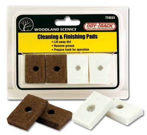Woodland Scenics (WOO) 785- Cleaning & Finishing Pads
