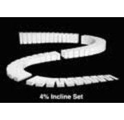 Woodland Scenics (WOO) 785- ST1411 4% INCLINE SETS 2' EA (4)