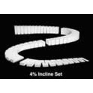 WOO - Woodland Scenics 785- ST1411 4% INCLINE SETS 2' EA (4)