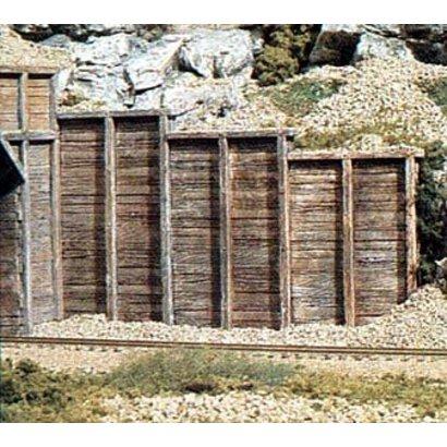 WOO - Woodland Scenics 785- HO Retaining Wall  Timber 3
