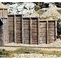 HO Retaining Wall  Timber 3