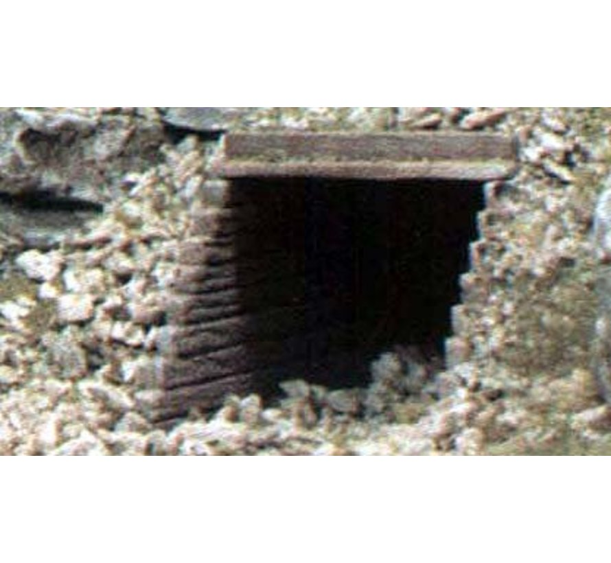 HO Culvert  Timber 2