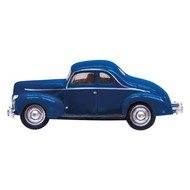 WOO - Woodland Scenics 785- HO Just Plug Blue Coupe