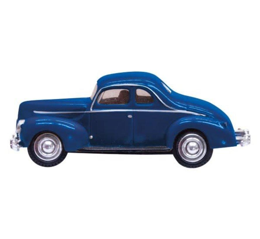 HO Just Plug Blue Coupe