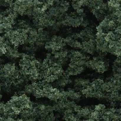 WOO - Woodland Scenics 785- FC684 Clump-Foliage Bag  Dk Green 55ci