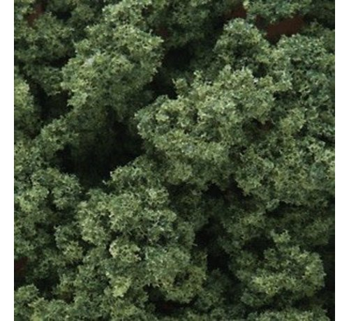 WOO - Woodland Scenics 785- FC146 Bushes Bag  Med Green/18ci