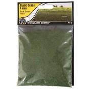 WOO - Woodland Scenics 785- FS617 Static Grass, Dark Green 4mm