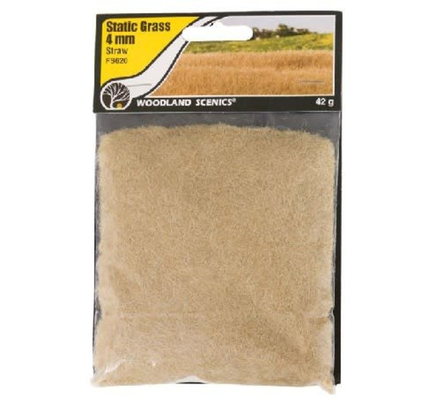FS620 Static Grass, Straw Green 4mm