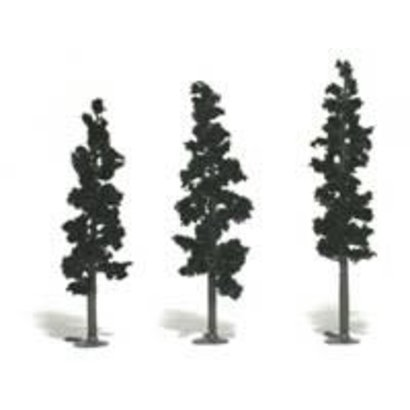 "WOO - Woodland Scenics 785- Realistic Tree Kit Pines Forest Green 2-1/2"" - 6"" (24)"