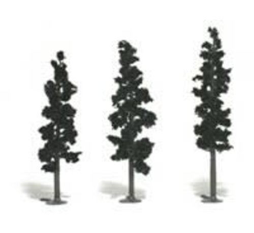 "Woodland Scenics (WOO) 785- Realistic Tree Kit Pines Forest Green 2-1/2"" - 6"" (24)"