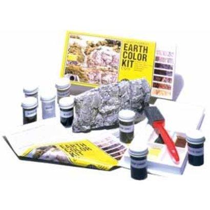 WOO - Woodland Scenics 785- C1215 Earth Color Kit 8 Colors Set 1 oz
