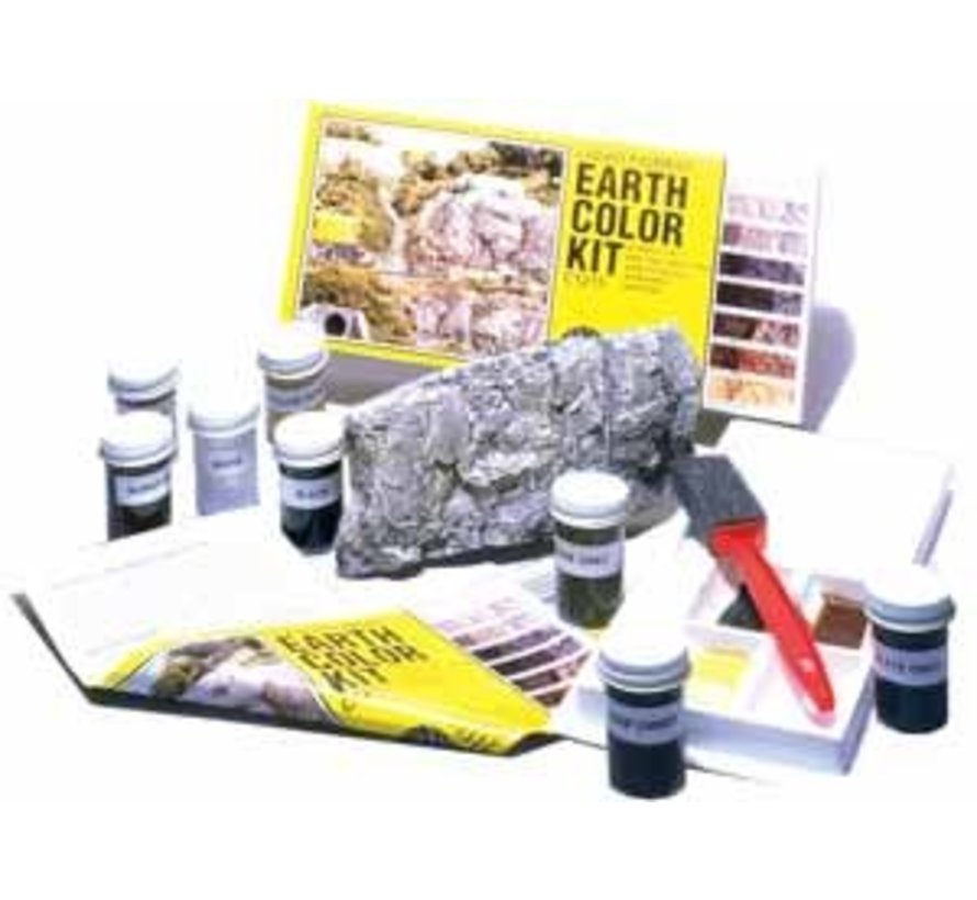 C1215 Earth Color Kit 8 Colors Set 1 oz