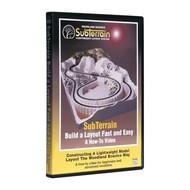 WOO - Woodland Scenics 785- How to SubTerrain - DVD