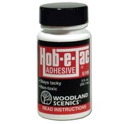 WOO - Woodland Scenics 785- S195 Hob-E-Tac Adhesive 2 oz